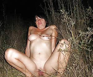 Chubby nudist amateurs not wear clother even in a night