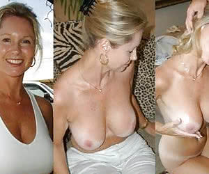 Big tits mature before and after