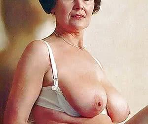 Tits pictures granny Old Pussy